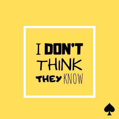 Ace Rosewall – I Don't Think They Know (single)