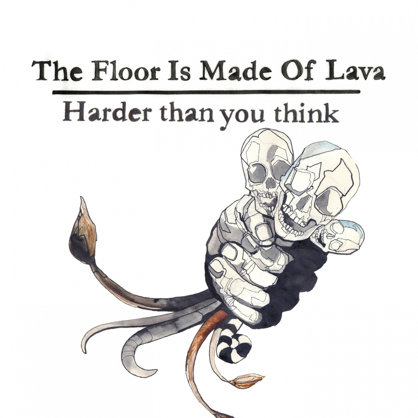 The Floor Is Made Of Lava – 'Harder Than You Think' (Single)