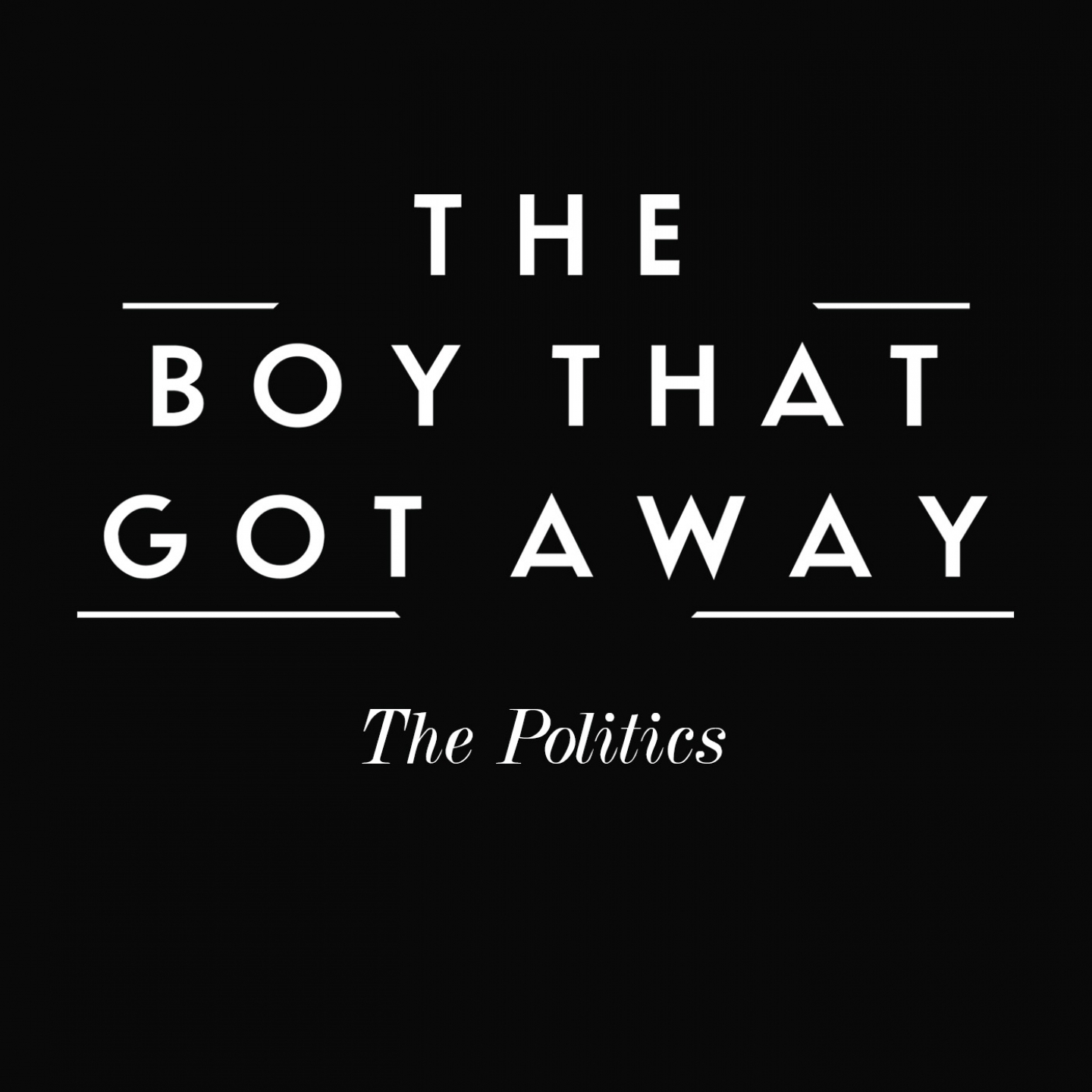 The Boy That Got Away – 'The Politics' (Single)
