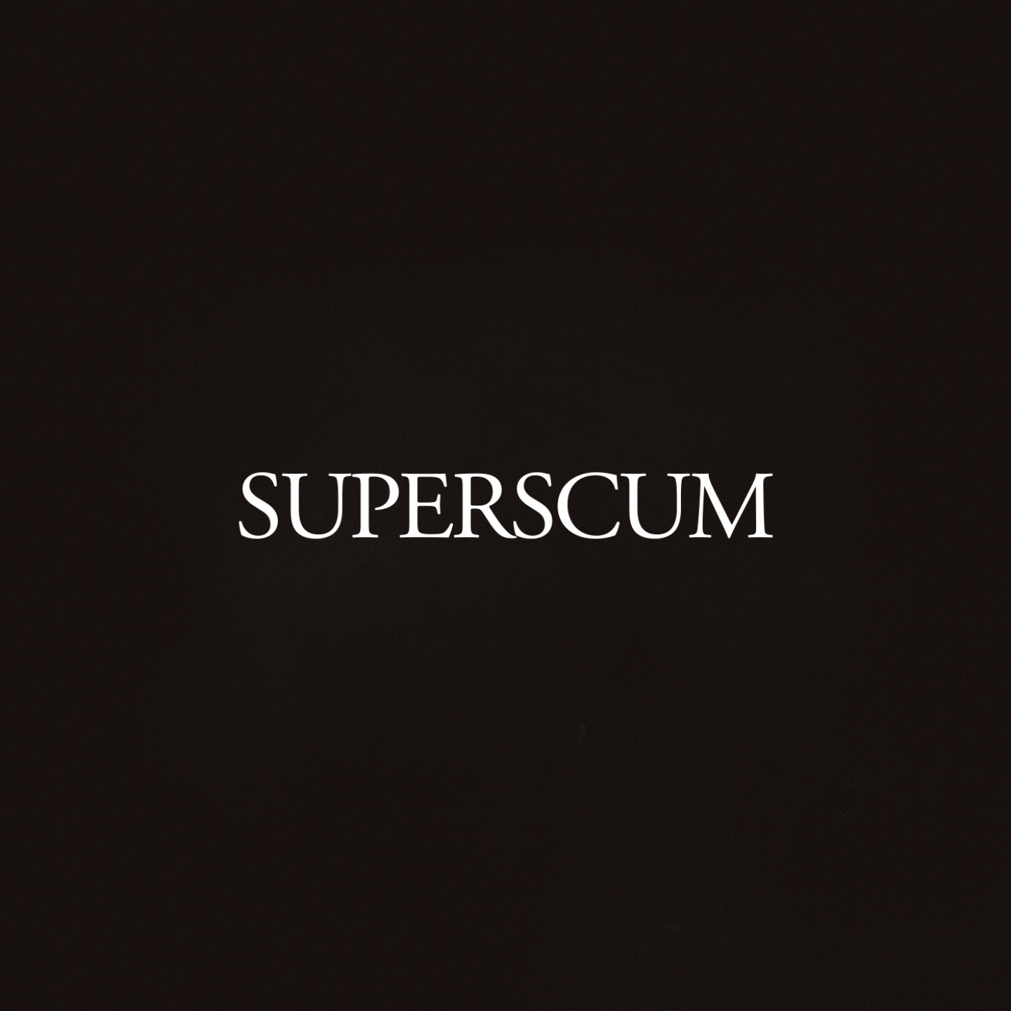 Superscum – 'I Know' (Single)