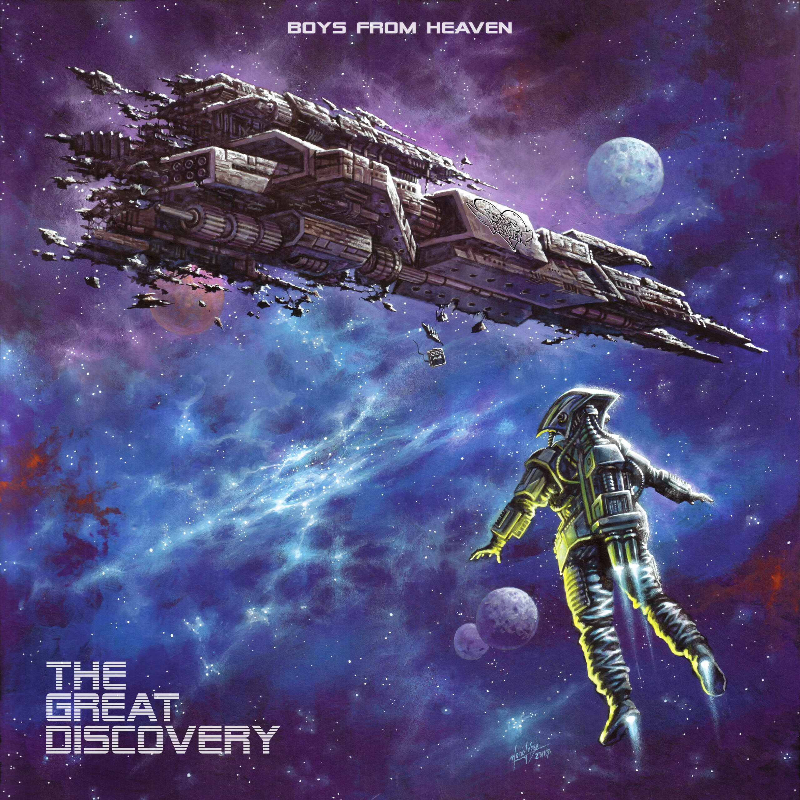 Boys From Heaven – The Great Discovery (album)