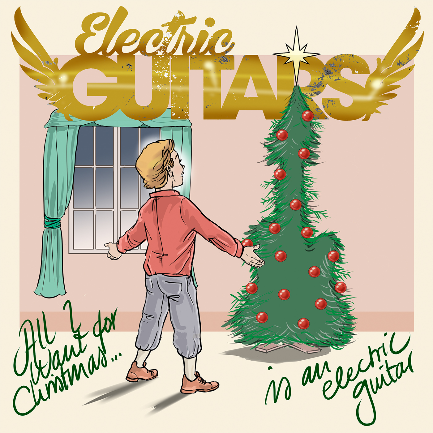 Electric Guitars – All I Want For Christmas (single)